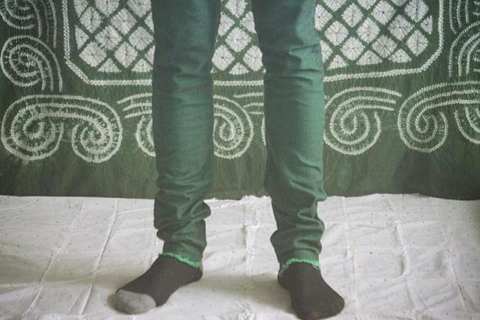 joaochao 2015 apparel design leprechaun pants