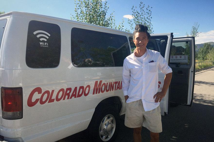 joaochao rides colorado mountain express summer 2016