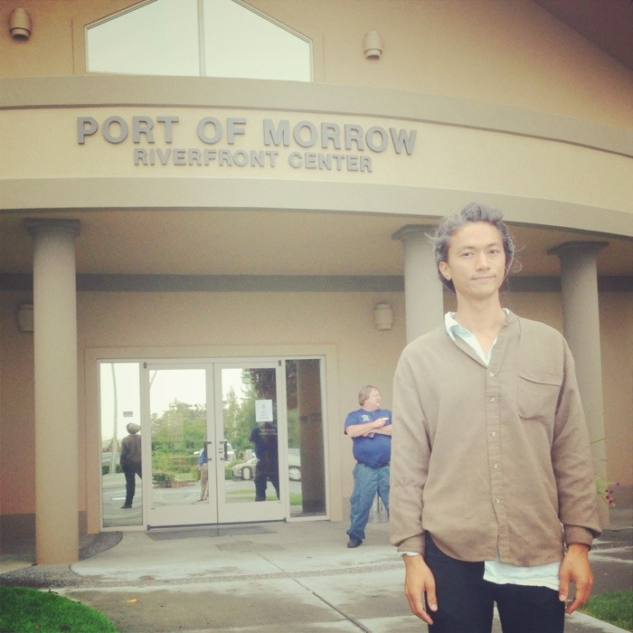 joaochao at port of morrow oregon deq hearing