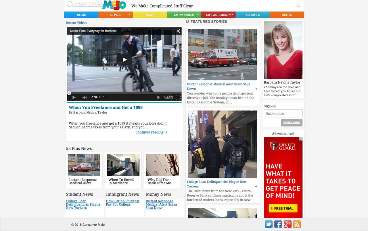 joaochao portfolio consumer mojo homepage