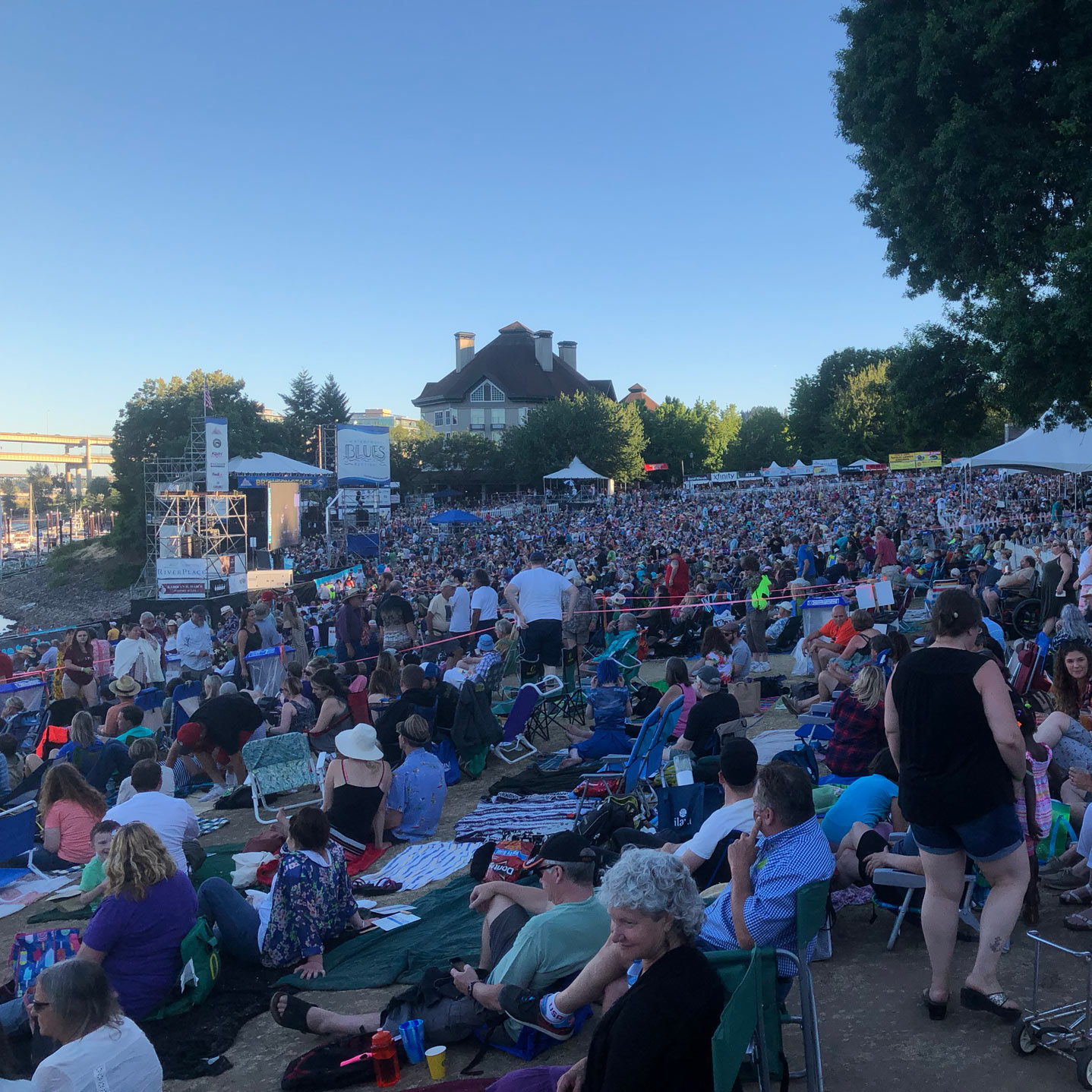 portland waterfront blues festival 2018