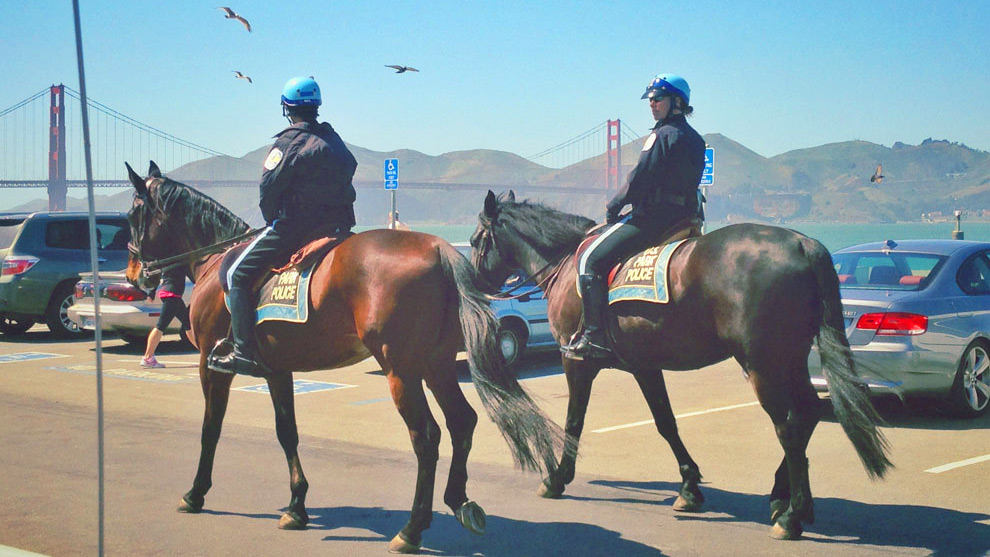 Riders on Horseback San Francisco Police