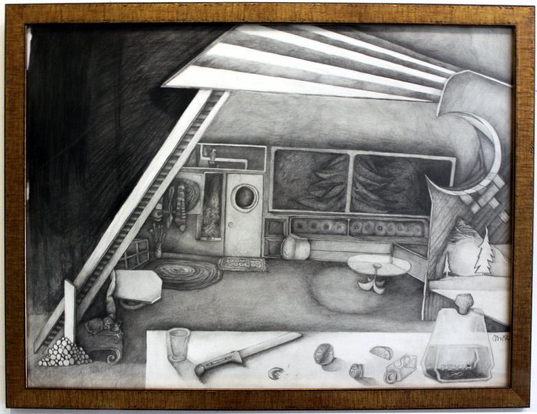 "Drawing, ""Based Upon a Memory"" JOAOCHAO.COM"