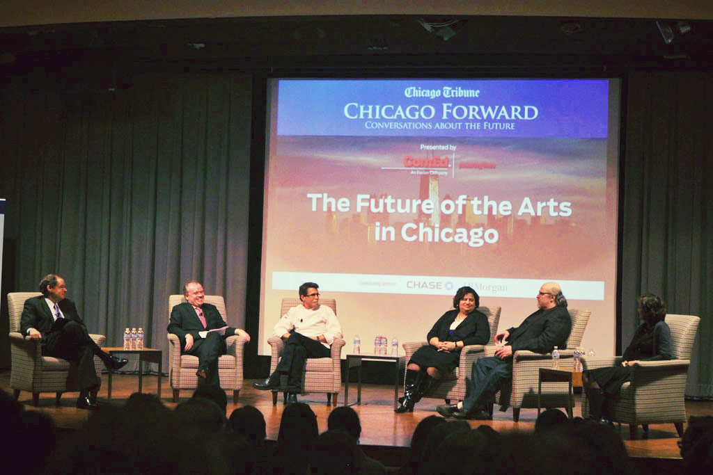 Chicago Forward, Future Of The Arts, Chase Auditorium 2