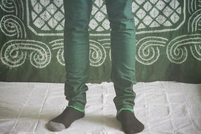 joaochao 2015 apparel design leprechaun pants