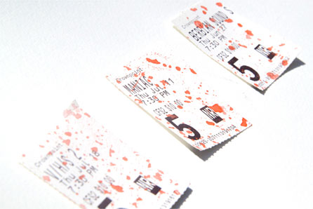 backalley film fest stubs