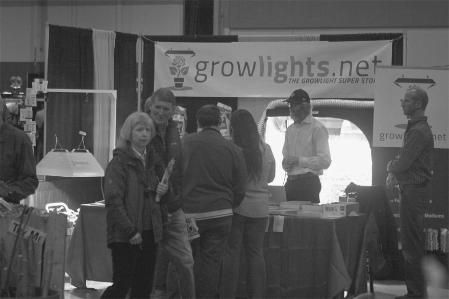 growlights.net 2015 booth pdx expo center