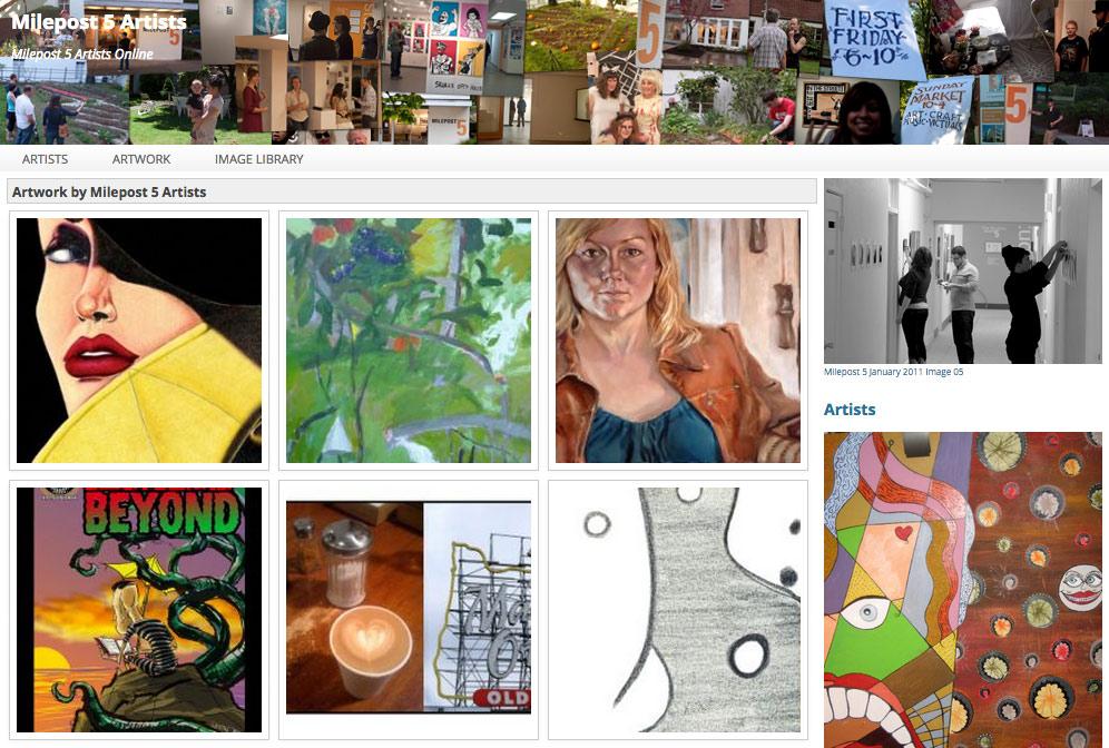 Webdev Project MP5 Artists